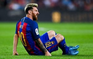 Messi Cedera Di saat Barcelona vs Atletico Madrid